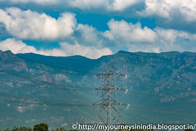 Trichy Thuraiyur Road Hills