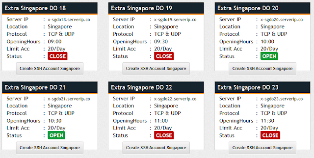 Oops, Extra Singapore DO 44 has reached Account maximum today, Please try another server or come back tomorrow to create your account on this server!
