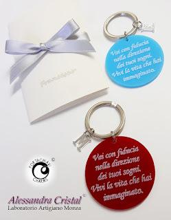 regalo laurea portachiavi inciso personalizzato
