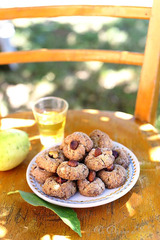 Biscuits à l'huile d'olive (sans oeufs et sans laitages)