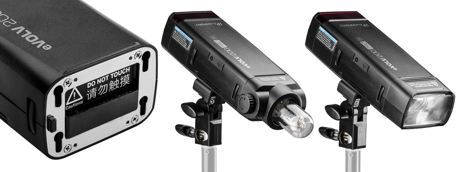 Сменные головы для Flashpoint eVOLV 200 Pro (Godox AD200 Pro)