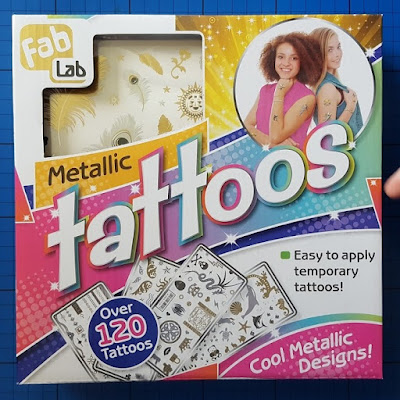 FabLab Metallic Tattoos kit from Interplay Review