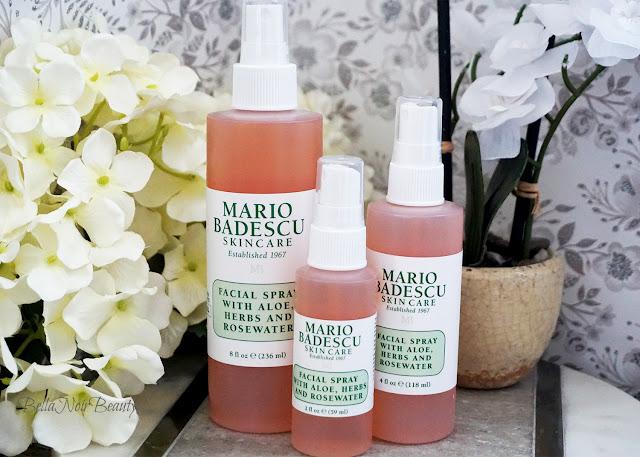 Mario Badescu Facial Spray with Aloe, Herbs & Rosewater Trio | bellanoirbeauty.com