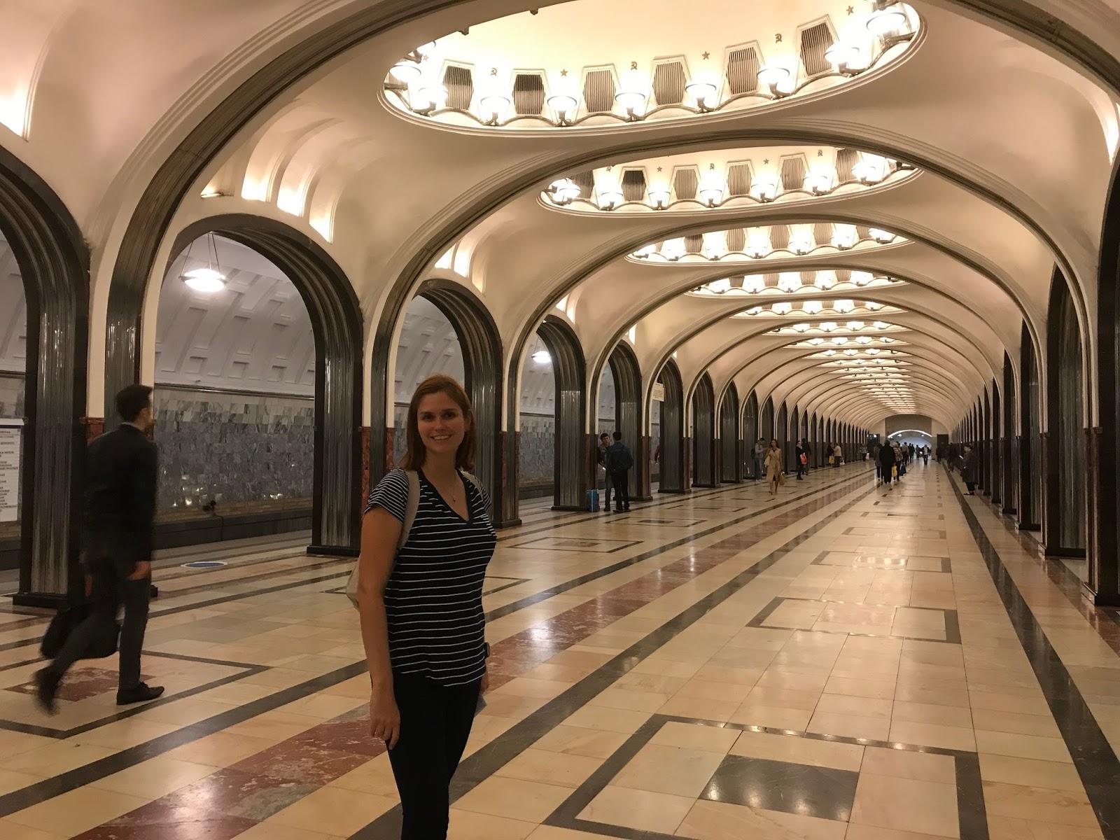 Mayakovskaya - Moscou