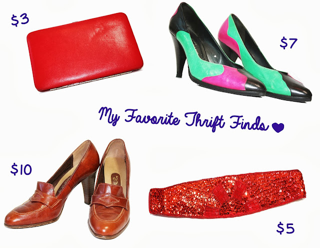 Cessily's favorite thrift finds