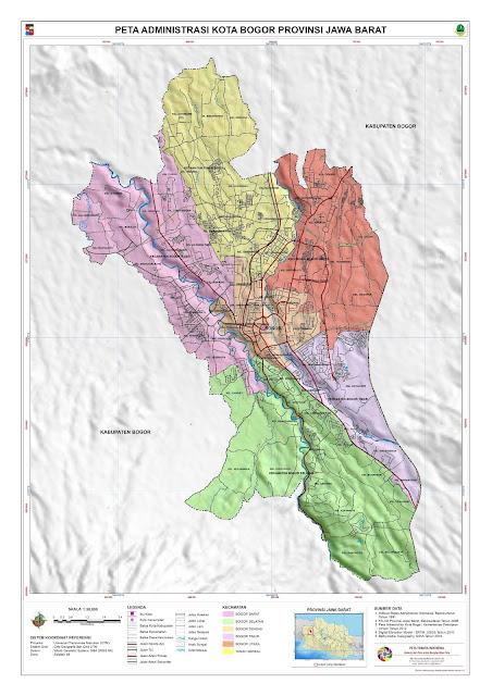 Peta Kota Peta Kota Bogor