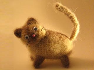 Сиамская кошка крючком
