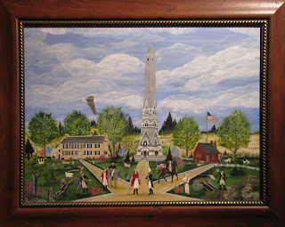 Local Artist Donates Painting to Saratoga NHP