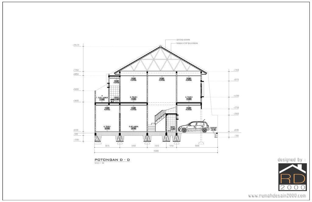 Image Result For Desain Atap Carport Minimalis