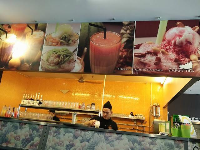 Pilihan Air yang Sedap Di Restoran Simpang Tiga Ipoh