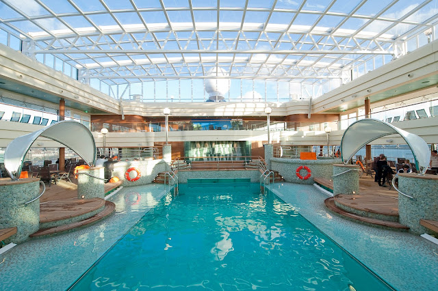 Piscina crucero MSC Magnífica