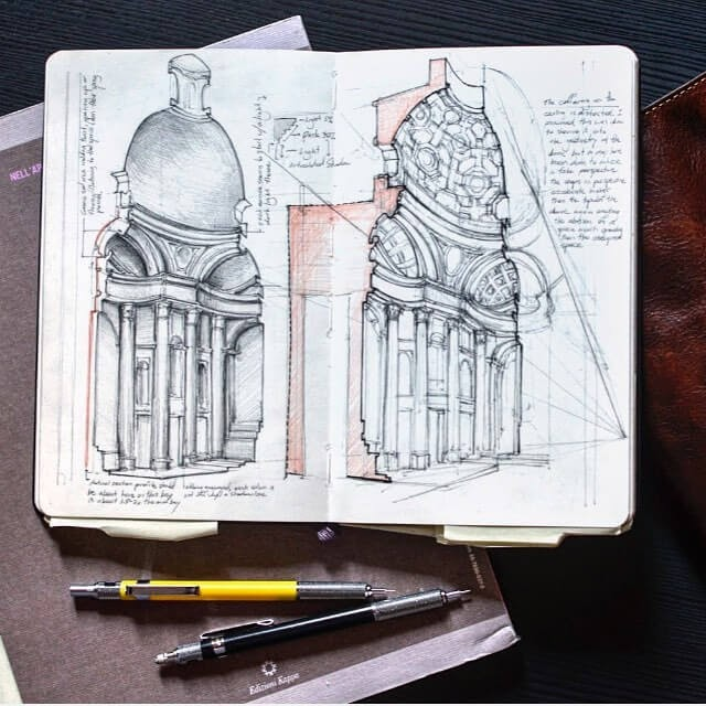 10-Rome-Jerome-Tryon-Moleskine-Book-with-Sketches-and-Notes-www-designstack-co