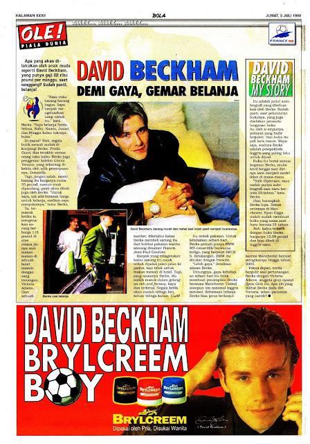 DAVID BECKHAM BRYLCREEM