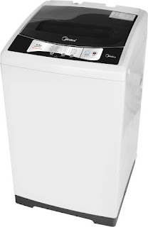 Midea MWMTL065ZOF 6.5 kg Fully Automatic Top Load Washing Machine