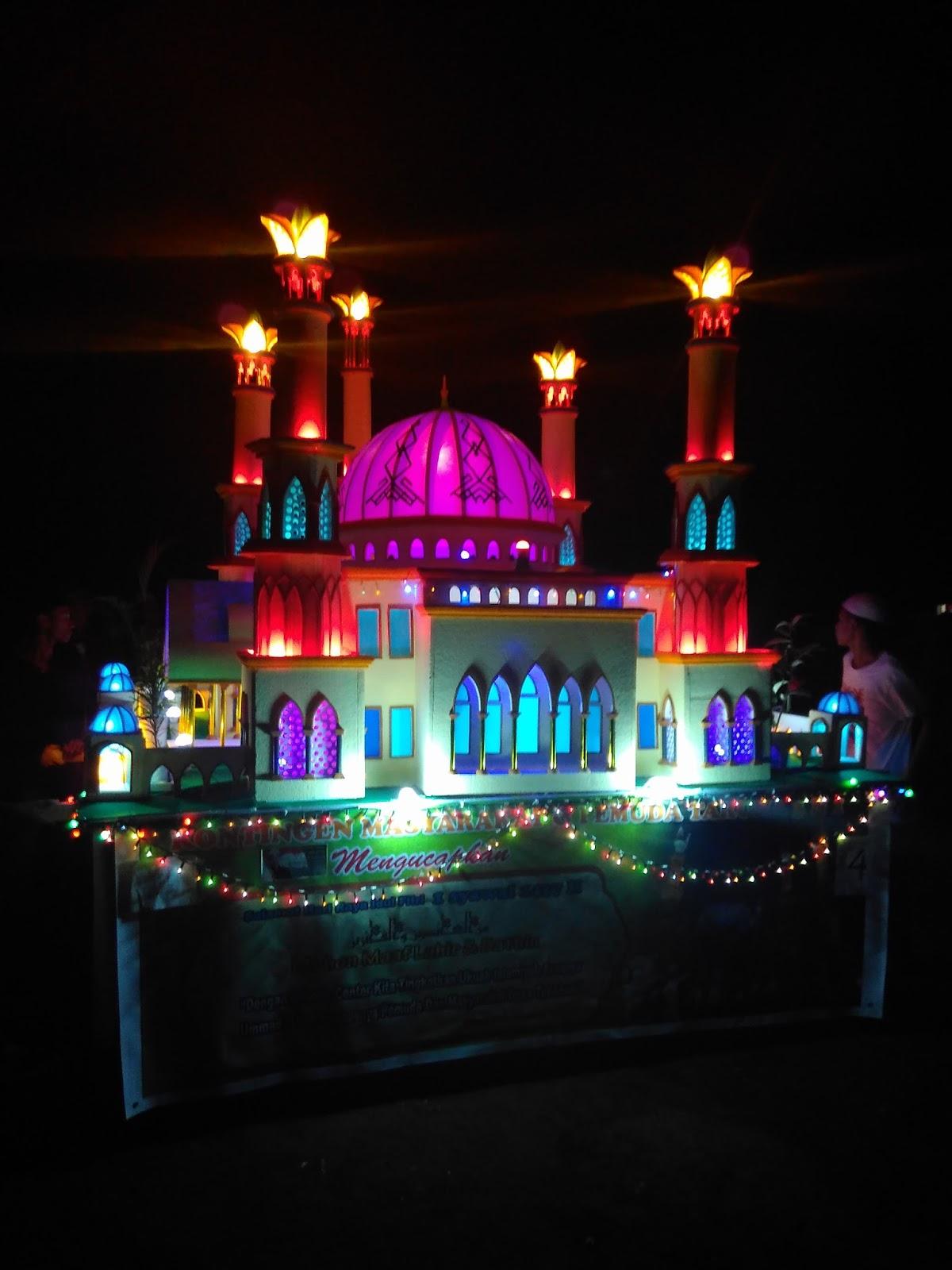 Kumpulan  Gambar Masjid Lampion Terbaik