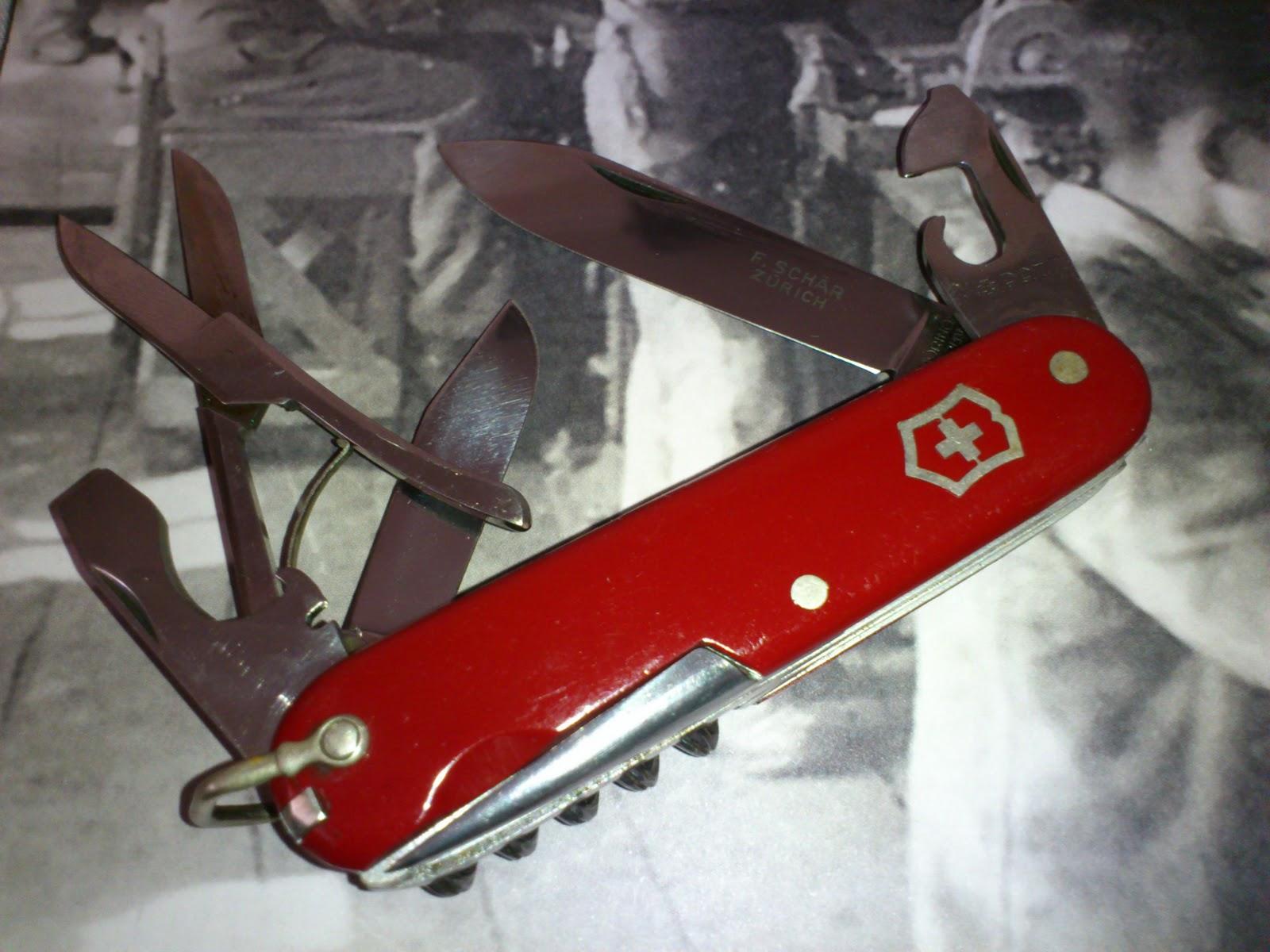 Mario S Swiss Army Knives Vintage Victorinox Climber