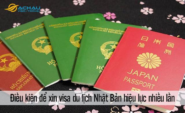 Điều kiện để xin visa du lịch Nhật Bản hiệu lực nhiều lần là gì?