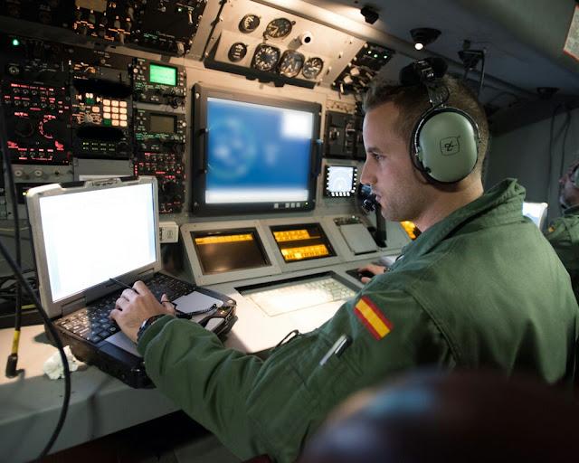 El Grupo 22 participa en el ejercicio internacional antisubmarino Dynamic Manta