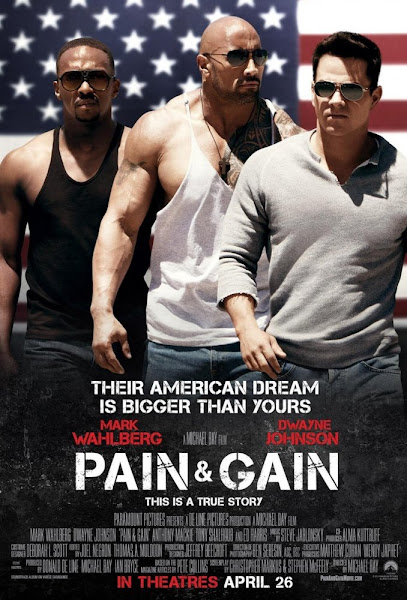 Poster of Pain & Gain 2013 UnRated 720p Dual Audio BluRay With ESubs Download