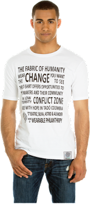 The Fabric of Humanity Men's T-shirt