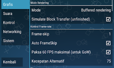 Cara Setting PPSSPP Agar Tidak Lemot 100% Work