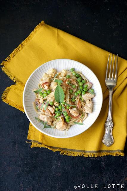 Ppura, Pasta, Sommer, Zitrone, Italien, lecker, einfach, fein, kochen