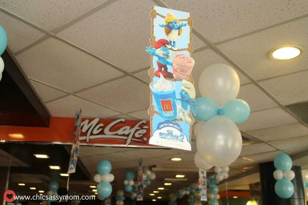 Smurf-tastic Day at McDonald\u0027s