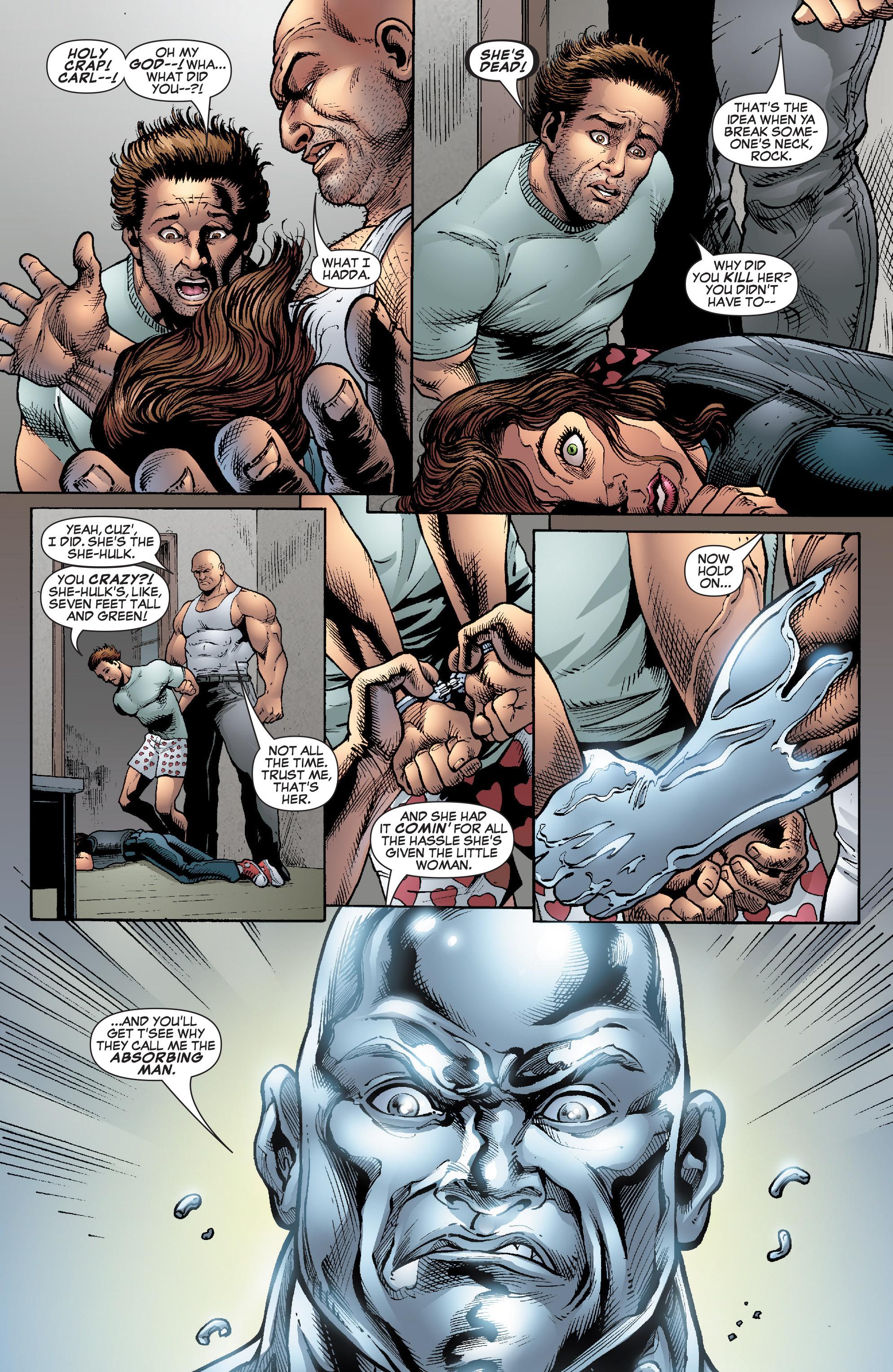 Read online She-Hulk (2005) comic -  Issue #22 - 14