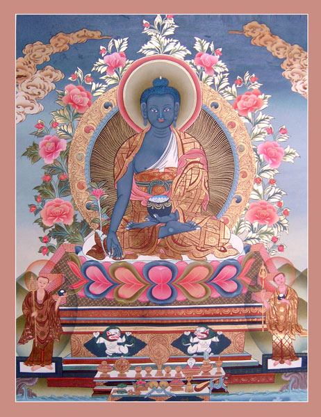 Astro Dakini's Dharma Stars * Zodiac Heaven : Medicine Buddha Moon