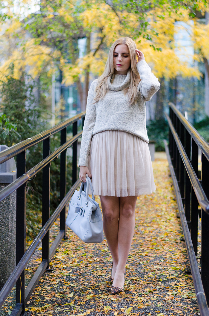 How to Style a tulle dress, layering tips