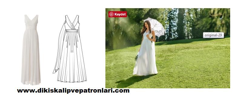 Elbise pilili - kadınsı, hafif ve havadar