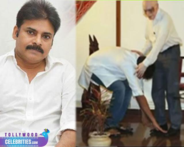 PawanKalyan Touched Feet Of Doctor In Kakinada