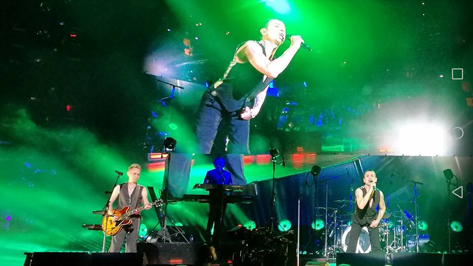 Almost Predictable Almost Live Review Depeche Mode Madison Square Garden New York 11