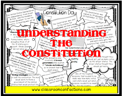 Constitution Day Reading Activity