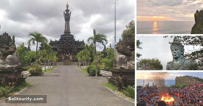 Bali Dennpasar City and Uluwatu Temple Tour