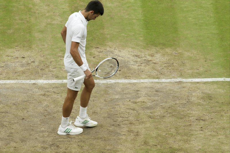 Novak Djokovic Complains About Wimbledon courts, says 'not that great' this year