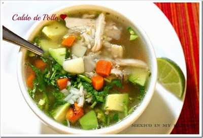 HOW TO MAKE CALDO DE POLLO RECIPE│MEXICAN CHICKEN SOUP