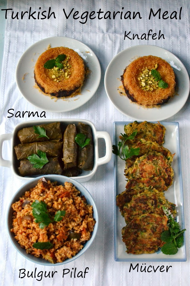 Turkey -- Turkish Vegetarian Meal (Recipes)