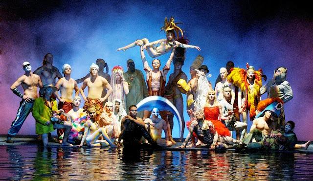 """Sobre o show """"O"""" do Cirque du Soleil em Las Vegas"""