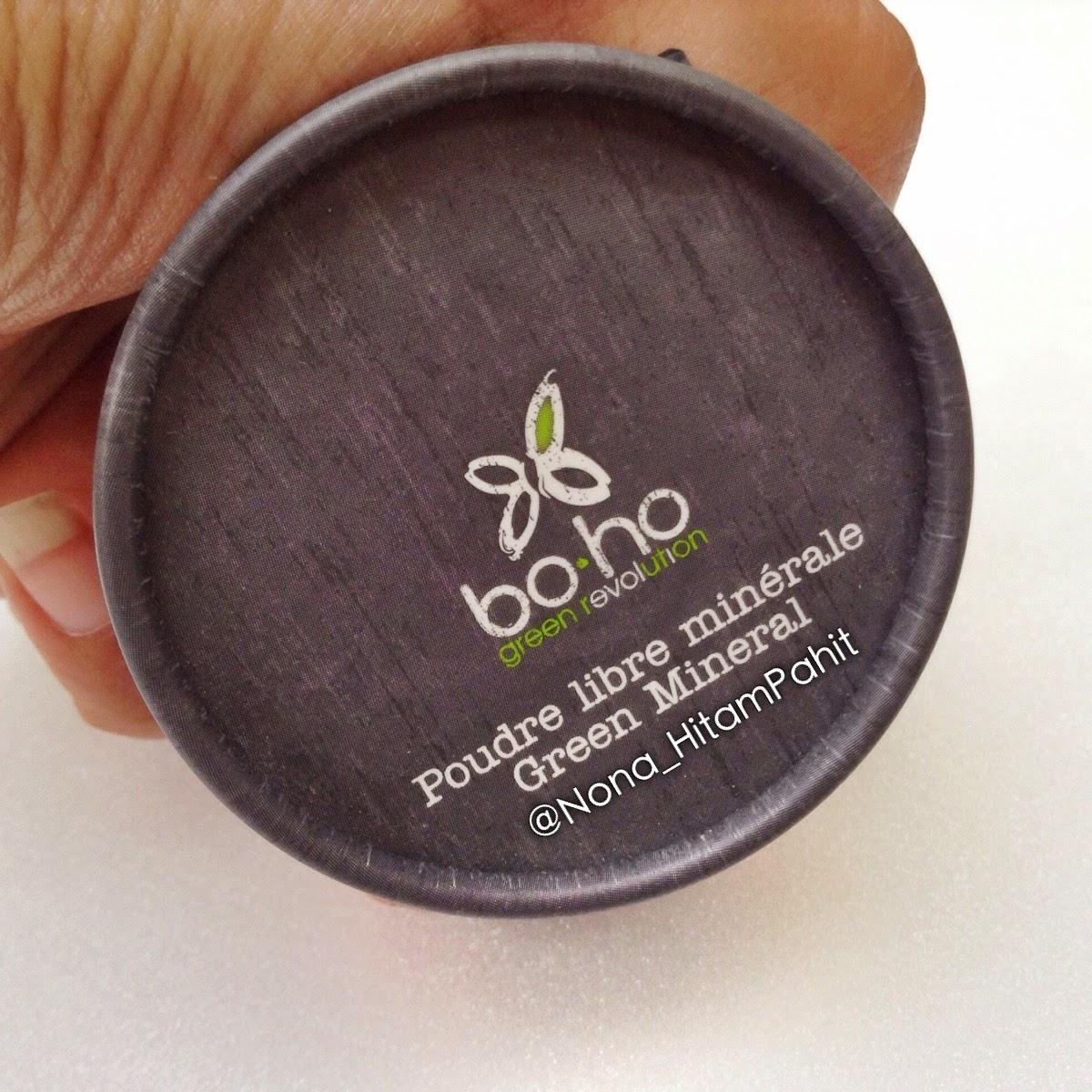 Organic Mineral Loose Powder BOHO Green, #Nona_HitamPahit, green product