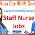 KOLKATA CITY NUHM SOCIETY RECRUITMENT 2019 WALK-IN FOR 157 STAFF NURSE POSTS