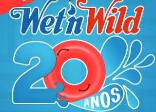 Promoção Parque Wet'n Wild 2018 Aniversário 20 Anos Ingressos