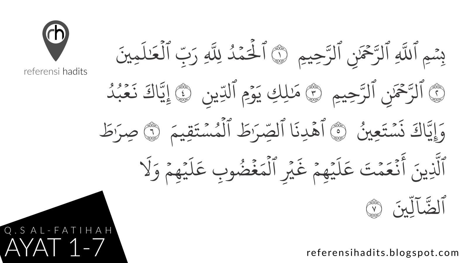 Penjelasan Surat Al Fatihah Disebut Sebagai Ummul Kitab
