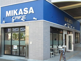The Café is a sister shop to MIKASA VOL.2