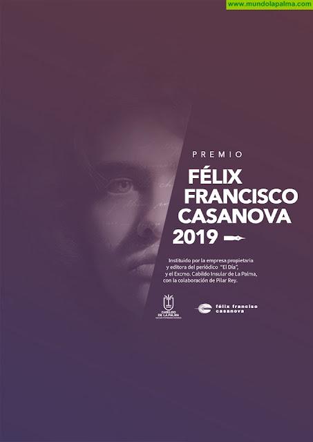 El Cabildo fomenta la creación literaria juvenil con el Premio Félix Francisco Casanova