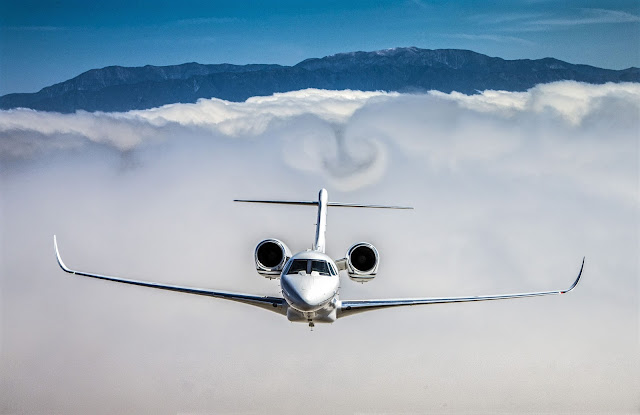 cessna citation x plus clouds