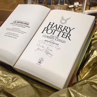 Harry Potter and the cursed child Contest 30 settembre Milano