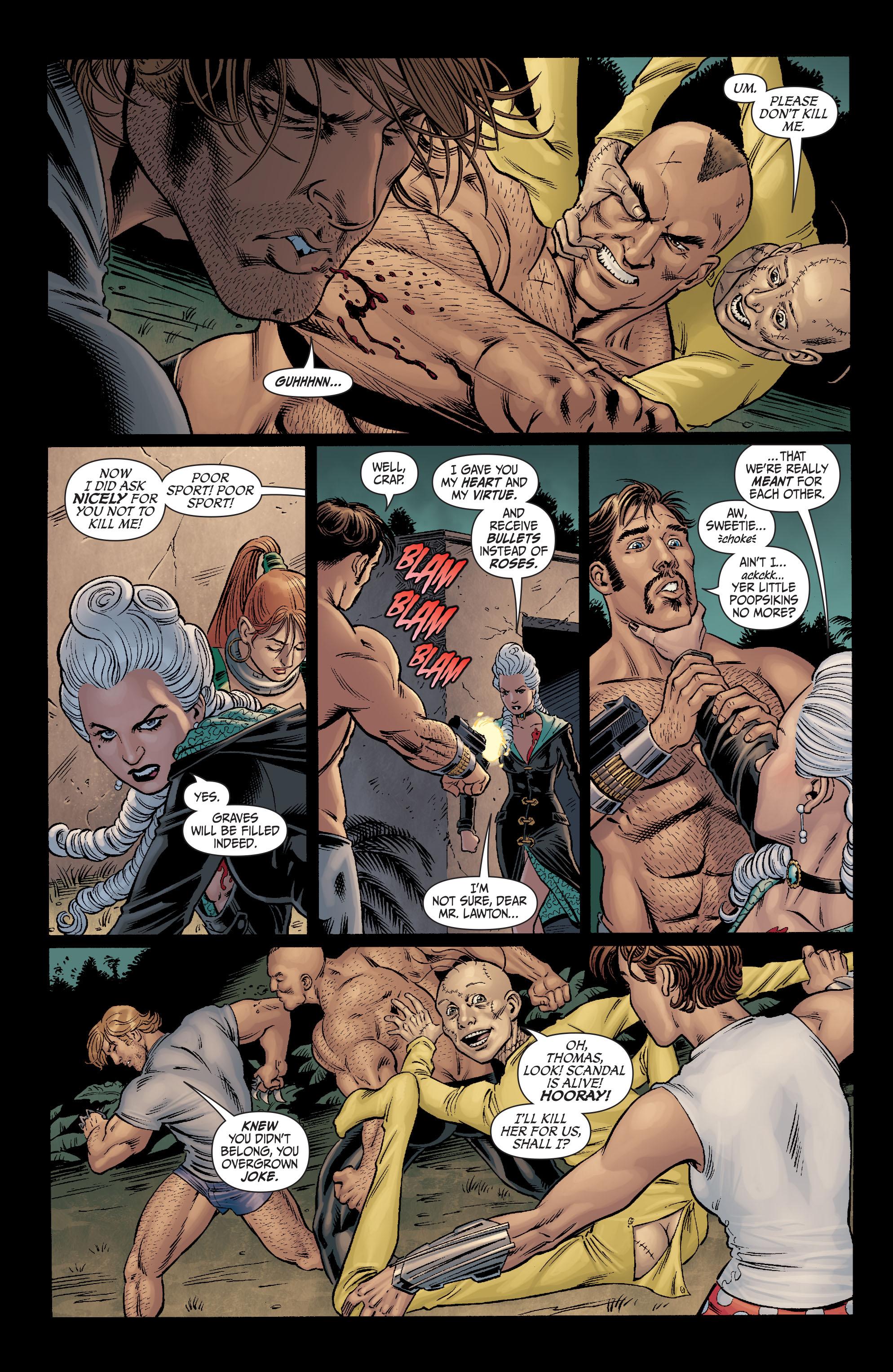 Read online Secret Six (2008) comic -  Issue #11 - 22