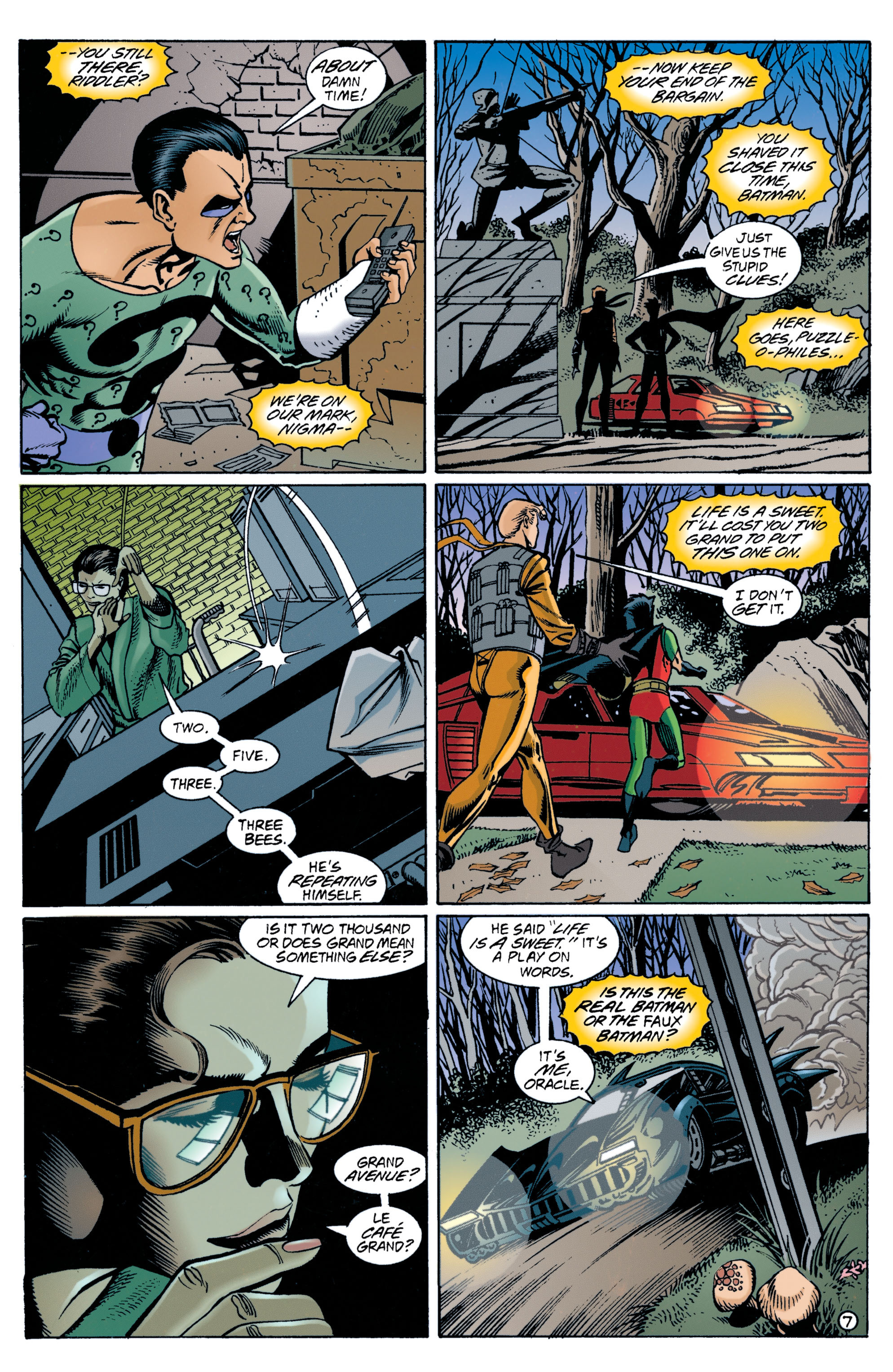 Detective Comics (1937) 707 Page 7