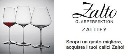 Scopri un gusto migliore, acquista i tuoi calici Zalto!